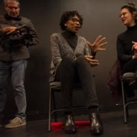 Documentary filmmaker Barr Weissman joins rehearsal